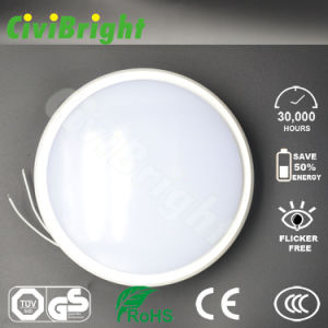 IP64 15W Round Smooth Curved Damp-Proof LED Ceilinglight with GS pictures & photos