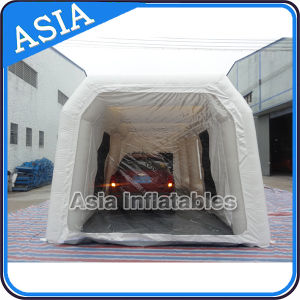 Mobile Automatic Inflatable Portable Car Spray Booth Tent for Sale pictures & photos