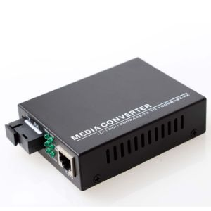 10/100/1000Mbps Fiber Media Converter Multi-Mode 850nm (MG1001SC) pictures & photos