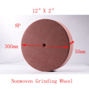 "12""X2"" 8p Diamond Tools Polishing Wheels Kenmaban Polishing Wheel pictures & photos"