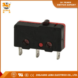 Lema Black and Red Kw12-0 Mini Micro Switch pictures & photos