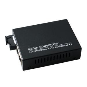 Bi-Directional Optical Fiber Media Converter 1310/1550nm (MC1004SC) pictures & photos
