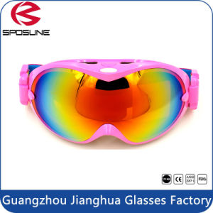2017 Top Sale Best Goggles for Skiing Shiny Dual Lens Sports Ski Goggles pictures & photos