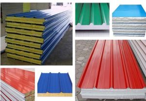 Best Price Rock Wool Sandwich Panel EPS Roof Panel pictures & photos