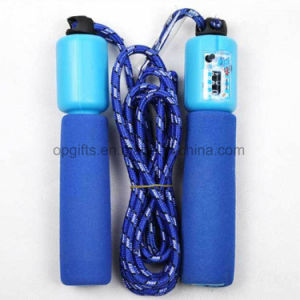 Plastic Adjustable Digital Jumping Rope pictures & photos
