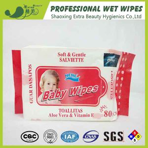 Spunlace Baby Wipes OEM Wet Tissues pictures & photos