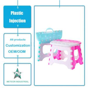 Customized Plastic Injection Moulding Plastic Foldable Chair for Kids / Children pictures & photos