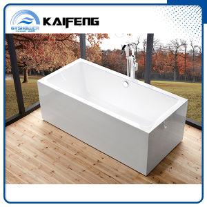 Upc Two Piece Seamless Acrylic Free Standing Bathtub (KF-737K) pictures & photos