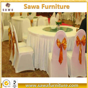 Hotel Wedding Banquet Supplies Spandex Fabric Lycra Chair Cover pictures & photos