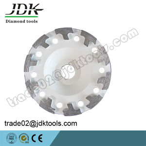 Jdk 100-180mm Diamond Concrete Grinding Cup Wheel Tools pictures & photos