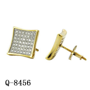 New Arrival Hip Hop Jewelry Silver Earrings, Ring and Pendant pictures & photos