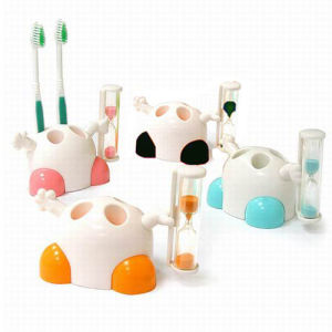 Toothbrush Holder with Sand Timer pictures & photos