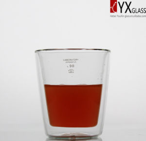 300ml Double Wall Glass Tea Cup/Double Wall Glass Coffee Cup/Double Wall Glass Thermos Cup pictures & photos