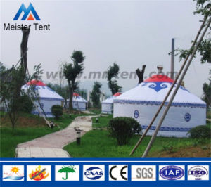 6 Person Living White Yurt Tent for Outdoors pictures & photos