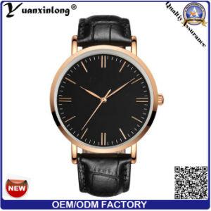 Yxl-098 New Hot Sale Leather Strap Men′s Watch Fashion Man Quartz Wrist Watch Custom Design OEM Wholesale Watches Factory pictures & photos
