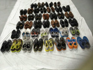 High Quality Big Stock of Used Shoes for Men Ladies and Children pictures & photos