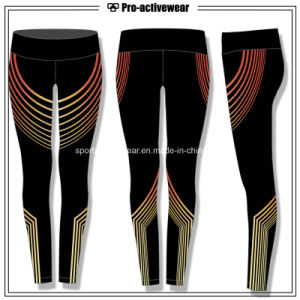 OEM Wholesale High Waist Sport Women Fitness Yoga Pants pictures & photos