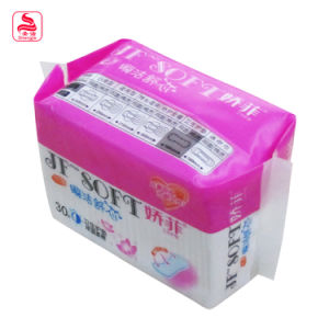 Hot Sale Super Thin Woman Softly Sanitary Pad pictures & photos