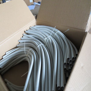 PVC Jacked Flexible Metal Square Lock Conduit pictures & photos
