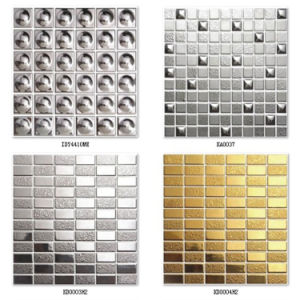 Gold Ceramic Mosaic for Wall Background pictures & photos