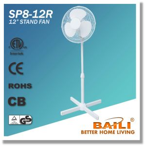 """New Design 12"""" Oscillating Stand Fan, Pedestal Fan pictures & photos"""