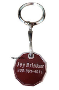 Trolley Coin for Supermarket with Nickel Plated pictures & photos