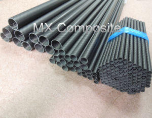 High Strength Carbon Fiber Tube with Matt Surface pictures & photos