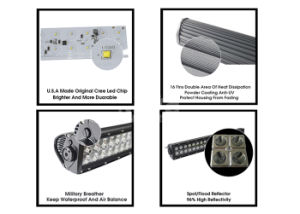 Waterproof LED Light Bar LED Bar Light 10-30 V Offroad LED Working Light Bar pictures & photos