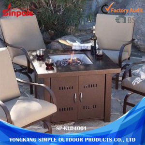 Multi-Users Modern Metal Gas Outdoor Garden Fire Pit pictures & photos