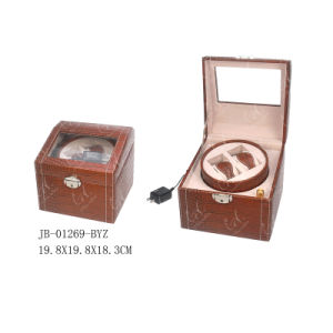 2PCS Classical Packaging Gift Case Wooden Watch Box Watch Winder pictures & photos