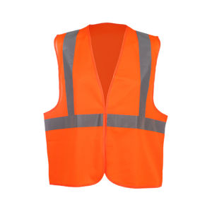 Wholesale High Visibility Reflective Traffic Warning Safety Vest pictures & photos