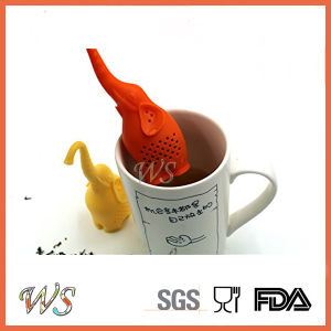 Ws-If054 Elephant Silicone Tea Infuser Tea Filter Food Grade Tea Strainer pictures & photos