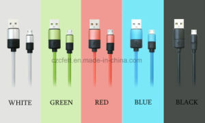 Colorful Round Charger&Transfer Data Android Cable pictures & photos