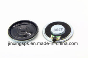 32mm Mylar Speaker 4-32ohm 0.5-1.5W with RoHS pictures & photos
