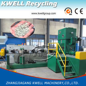 PP Granulating Machine/PE Pelletizer/Plastic Extruder with Side Force Feeder pictures & photos