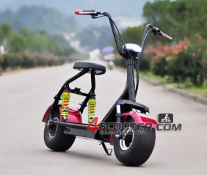 New Products Double Electric 500W Citycoco Girl on Scooter for Sale pictures & photos
