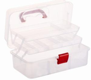 Mini Plastic PP Tool Box with Plastic Handle (HYS-019) pictures & photos