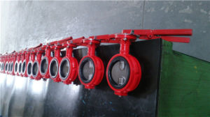 Industrial Use Wafer Type Butterfly Valve pictures & photos