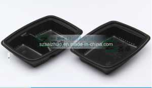 2 Compartment Disposable Plastic Food Container (SZ-8628) pictures & photos