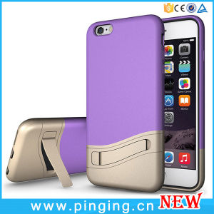 Hybrid Kickstand Mobile Phone Cases for iPhone 6 Case pictures & photos