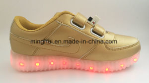 Women Kids USB Charging Light LED Shoes with Many Changeable Color Footwear pictures & photos