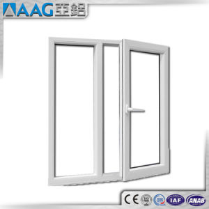 Aluminium Hinged Door/Aluminum Casement Door for Bathroom pictures & photos