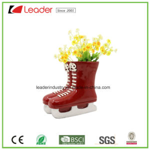 Polyresin Decorative Boot Planter with Birds Family for Garden Decoration pictures & photos
