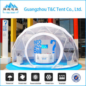 Geodesic Dome House China Low Cost Fiberglass Greenhouses and Villas pictures & photos