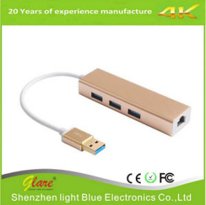 USB 3.0 to Ethernet Adapter Cable pictures & photos