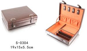Hot Sales Brown Lizard Material Jewelry Box