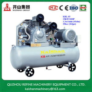 Kaishan KBL-15 20HP 25bar High Pressure Rotary Compressor pictures & photos