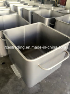 International Standard Stainless Steel 200L Meat Trolley pictures & photos