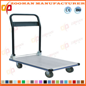 Warehouse Steel Folding Flat Cart (zhc-1) pictures & photos