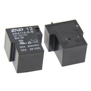 Zd4115 (T90) 4 Pin Nornally Close Type Power Relay Use for Household Appliances &Industrial pictures & photos